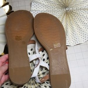 Lucky Brand Shoes - Lucky Brand Strappy White Sandals size 11